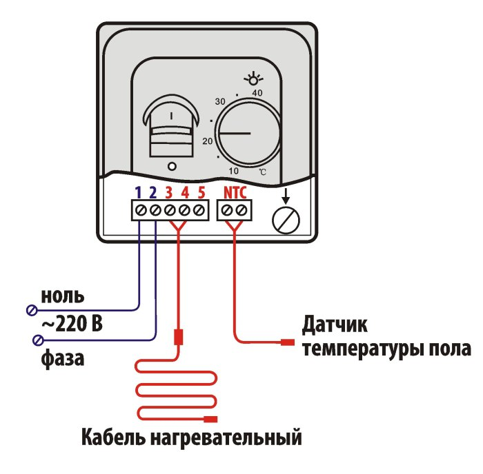 Принципиальная схема подключения ИПО