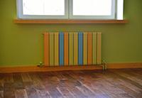 Цветная батарея отопления