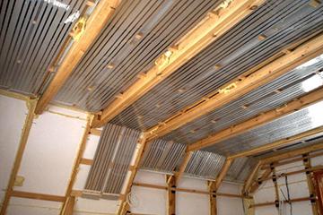 Пленочное потолочное ик-отопление