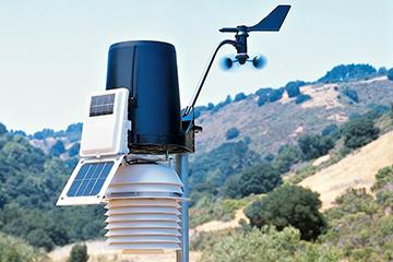 Метеостанция на солнечной батарее