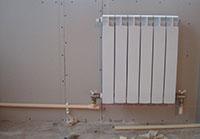 Монтаж радиаторов однотрубной системы отопления