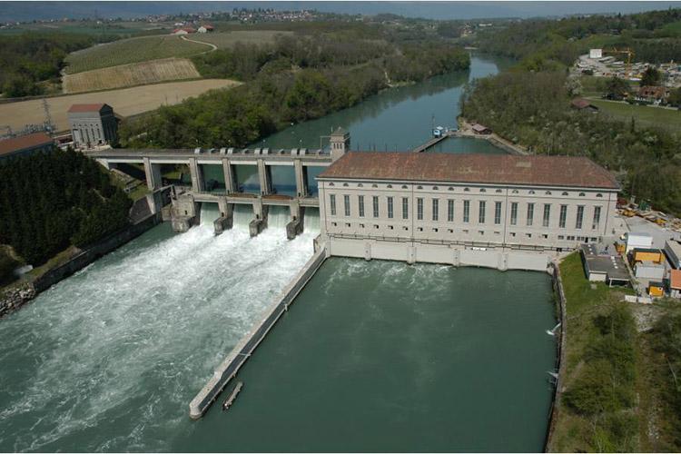 Электростанция плотинного типа