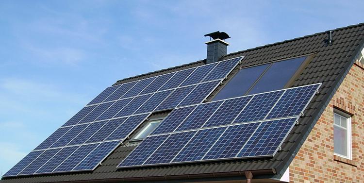 Солнечные панели для обогрева дома
