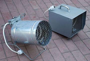 Модели тепловентиляторов