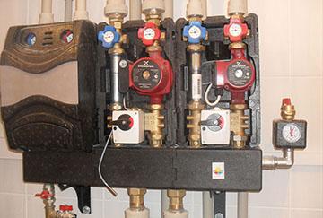 Смесительный контур радиаторного отопления