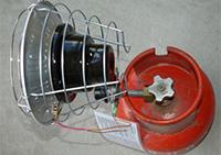 Компактный газовый обогреватель