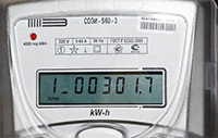 Многотарифный счетчик электричества
