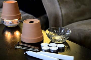 Материалы для изготовления свечного обогревателя
