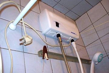 Электросеть для водонагревателя