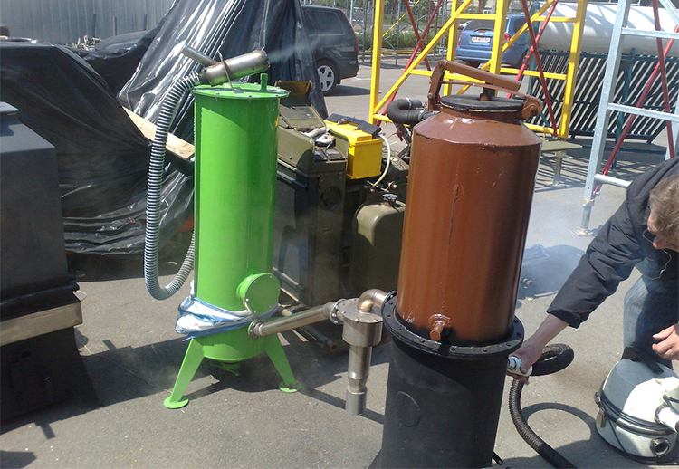 Газогенератор Урал