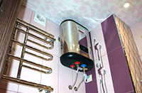 Накопительный водонагреватель - установка