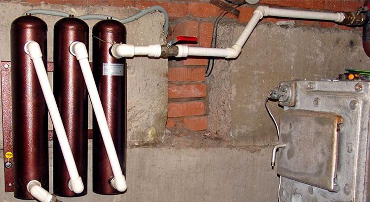 Установка котла на электромагнитной индукции