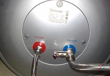 Подводка воды к бойлеру Термекс