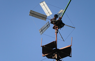 Ветряной генератор в качестве альтернативного источника энергии
