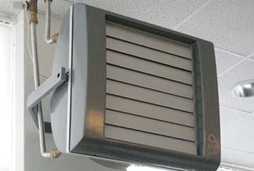 Электрическая модель вентиляционного обогревателя