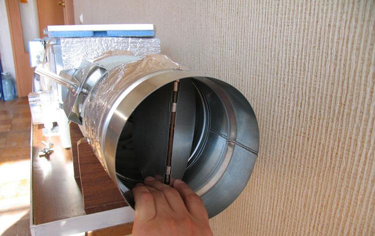 Сборка вентиляционной системы
