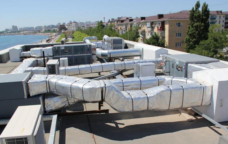 Канальная вентиляционная установка