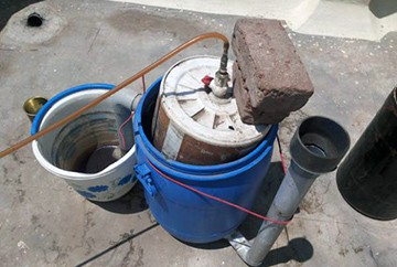 Самодельная биогазовая установка