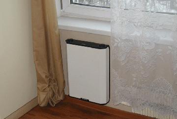 Вентиляционный блок в квартире