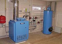 Отопление с газовым котлом