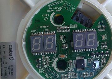 Плата таймера и датчика влажности вытяжного вентилятора