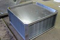 Рекуператор из листового металла