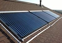 Отопление солнечной энергией