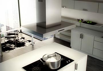 Современная кухонная вытяжка