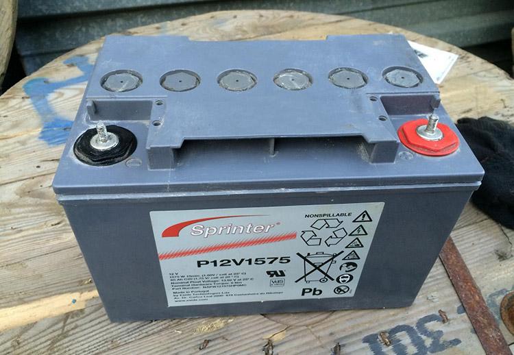 Стекловолоконный аккумулятор