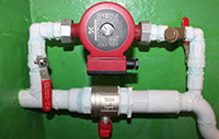 Установка циркуляционного насоса GRUNDFOS в систему отопления