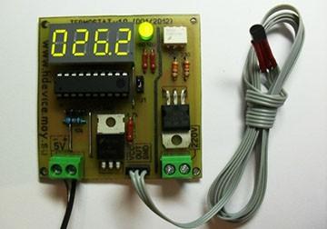 Терморегулятор самодельный для инкубатора