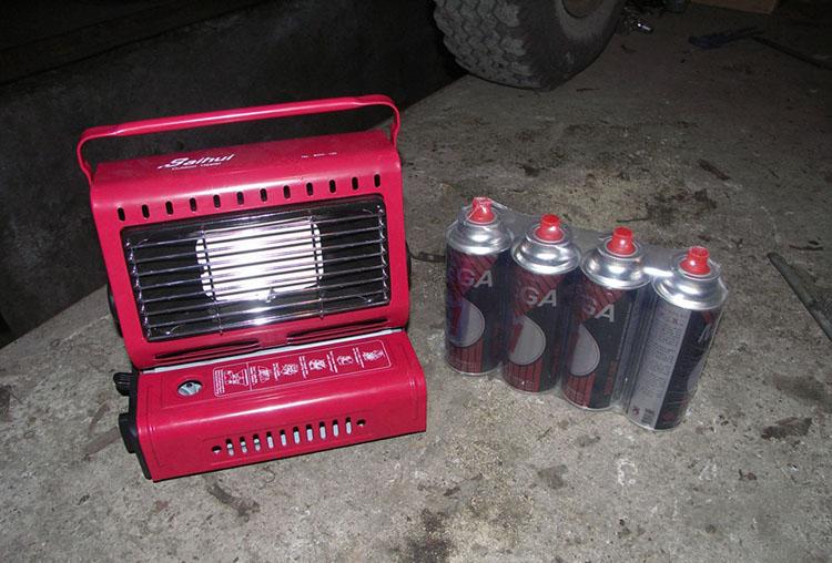 Газовый отопительный прибор