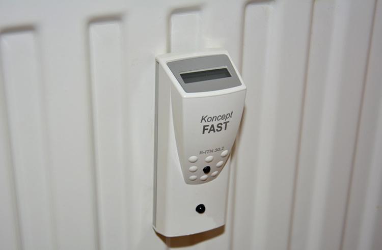 Прибор учета на радиаторе