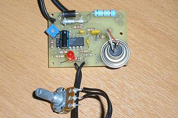 Инкубаторный терморегулятор