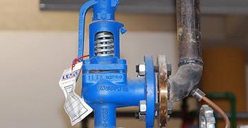 Настройка предохранительного клапана