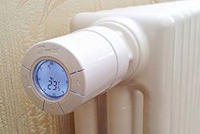 Отопительный прибор на радиаторе