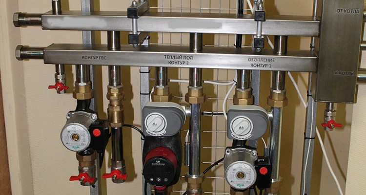 Коллекторный гидроразделитель