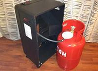 Печка на газу для дачного домика