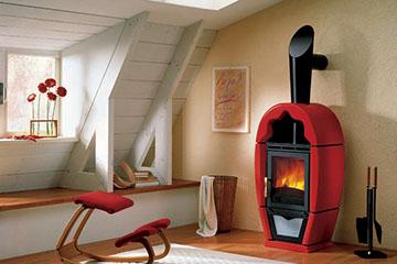 Печка в дачном домике