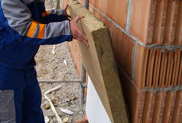 крепление базальтовой плиты к стене