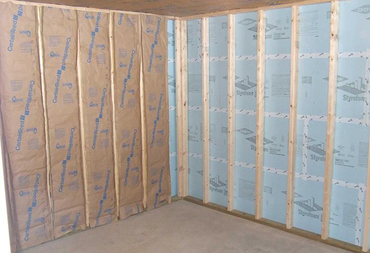 Дом из бруса - теплоизоляция