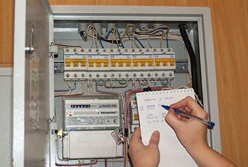 снятие показаний с электросчетчика