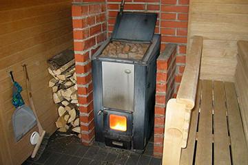 печка чугунная