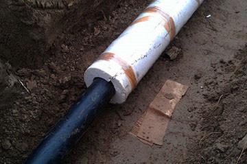утепление водопроводной трубы