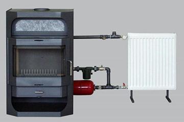 газогенераторная печка