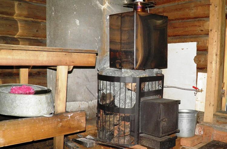 печка Везувий