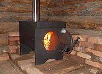 дровяная печка