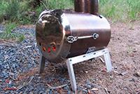 печка металлическая