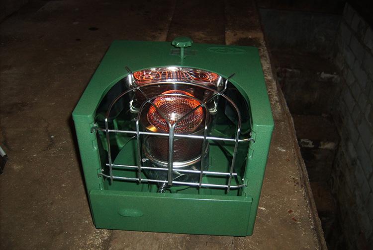 компактный отопительный прибор на жидком топливе