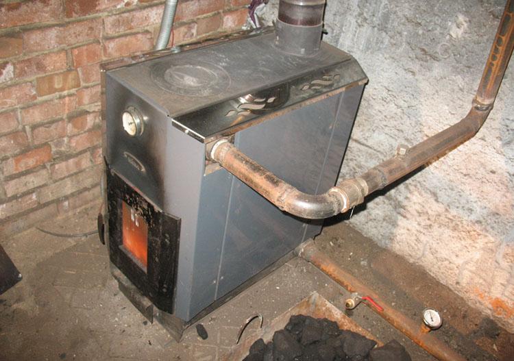 печка с водяным обогревом